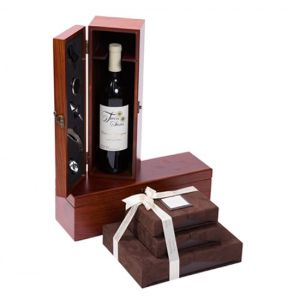 Wine and Chocolate Luxurious Gift