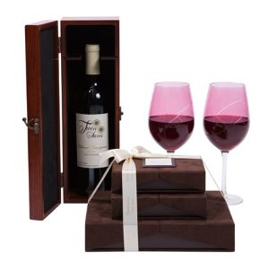 Wine Chocolate with Designer Wine